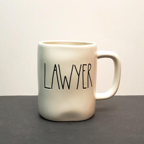 Rae Dunn LAWYER mug